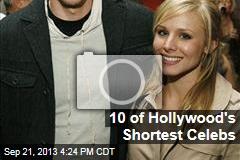10 of Hollywood's Shortest Celebs