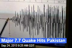 Major 7.7 Quake Hits Pakistan