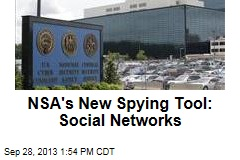 NSA's New Spying Tool: Social Networks
