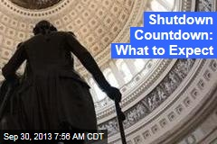 Shutdown Countdown: What to Expect