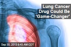 Lung Cancer Drug Could Be 'Game-Changer'