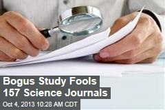 Bogus Study Fools 157 Science Journals