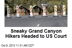 Sneaky Grand Canyon Hikers Headed to US Court