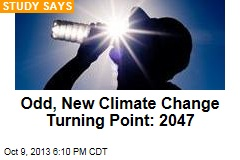 New Climate Change Turning Point: 2047