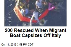 Another Migrant Boat Sinks Off Coast of Italy