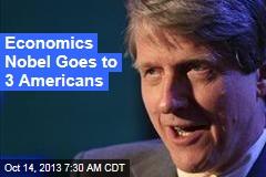 Economics Nobel Goes to 3 Americans