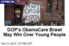 GOP's ObamaCare Brawl May Win Over Young People