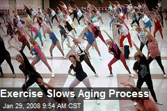 Exercise Slows Aging Process