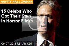 15 Celebs Who Got Their Start in Horror Flicks