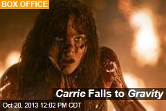 Carrie Falls to Gravity