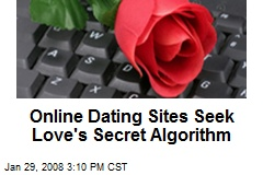 Online Dating Sites Seek Love's Secret Algorithm