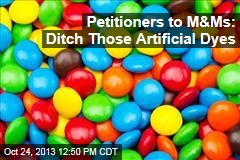 Petitioners to M&Ms: Ditch Those Artificial Dyes
