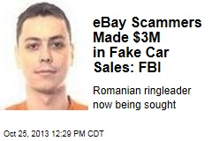 eBay Scammers Made $3M in Fake Car Sales: FBI