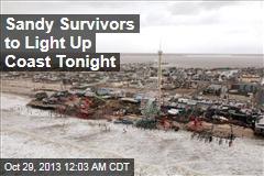 Sandy Survivors to Light Up Coast Tonight