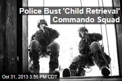 Police Bust 'Child Retrieval' Commando Squad