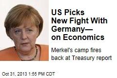 US Picks New Fight With Germany— on Economics