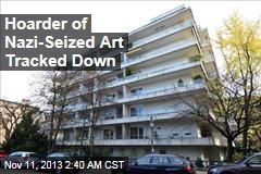 Hoarder of Nazi-Seized Art Surfaces, Stays Quiet
