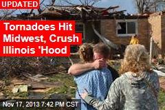 Tornado Hits Illinois; Bears Game Delayed