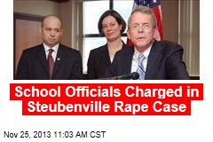 School Officials Charged in Steubenville Rape Case