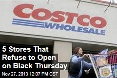 5 Stores That Refuse to Open on Black Thursday