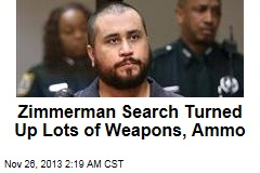 Zimmerman Search Turned Up Lots of Weapons, Ammo