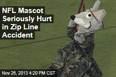 NFL Mascot Seriously Hurt in Zip Line Accident