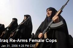Iraq Re-Arms Female Cops