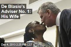 De Blasio's Adviser No. 1: His Wife