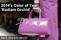 2014's Color of Year: 'Radiant Orchid'