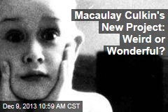 Macaulay Culkin's New Project: Weird or Wonderful?