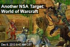 Another NSA Target: World of Warcraft