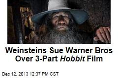 Weinsteins Sue Warner Bros Over 3-Part Hobbit Film