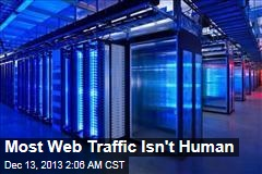 Most Web Traffic Isn't Human