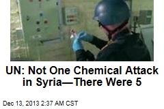 UN Confirms Syria Chemical Attacks