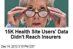 15K Health Site Users' Data Didn't Reach Insurers