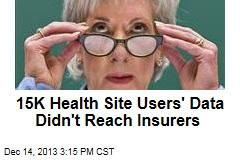 15K Health Site Users' Data Didn't Reach Insurers
