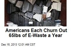 World Mountain of E-Waste Set to Soar