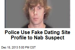 Police Use Fake Dating Site Profile to Nab Suspect