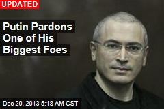 Putin Pardons One of His Biggest Foes