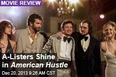 A-Listers Shine in American Hustle