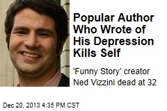 Popular Author Who Wrote of His Depression Kills Self