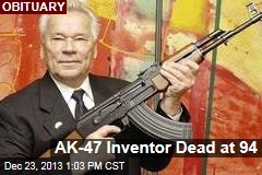AK-47 Inventor Dead at 94
