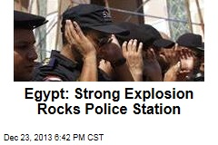 Egypt: Strong Explosion Rocks Police Station