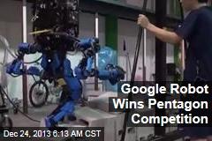Google Robot Wins Pentagon Competition