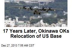 17 Years Later, Okinawa OKs Relocation of US Base