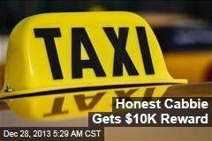 Honest Cabbie Gets $10K Reward