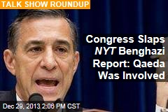 Congress Slaps NYT Benghazi Report: Qaeda Was Involved