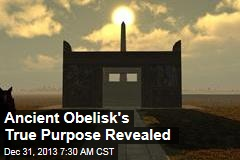 3D Shines Light on Ancient Obelisk's True Purpose