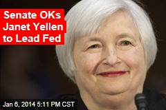 Most Senators OK Yellen to Lead Fed