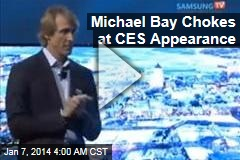 Michael Bay Chokes at CES Appearance